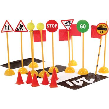 First-Play Road Crossing Set
