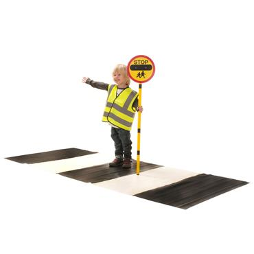 First-play Zebra Road Crossing Set