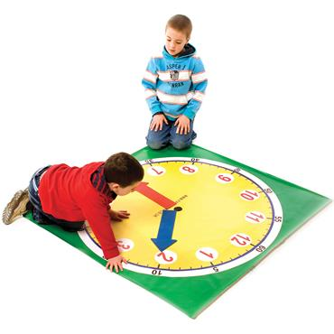 First-Play Tell The Time Mat