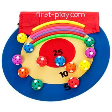 First-Play Bullseye Target
