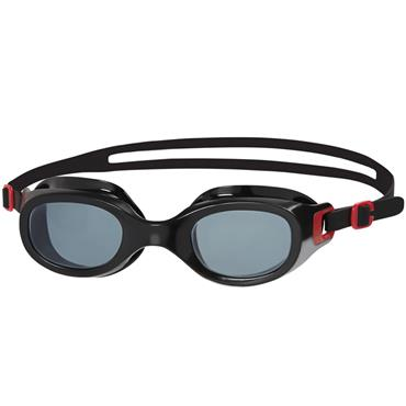 Speedo Futura Classic Goggles | (Red/Smoke)
