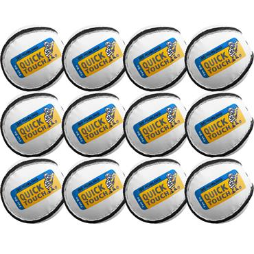 Quick Touch Kids Sliotar U10's | 12 Pack