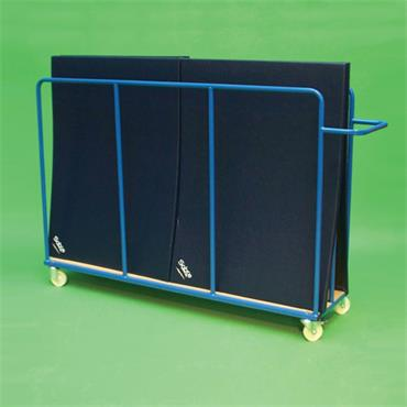 PMF Senior Vertical Mat Trolley