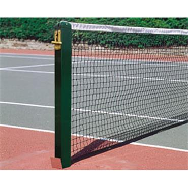 Harrod Aluminium 80mm/0.25ft Square Tennis Posts