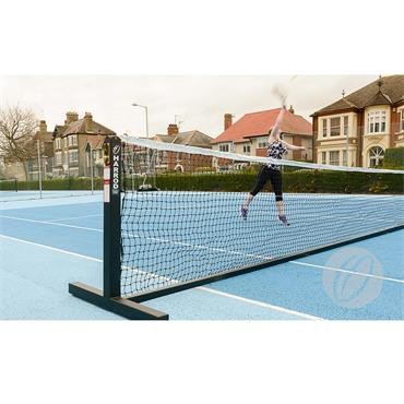 Harrod Steel Freestanding Tennis Posts | Black