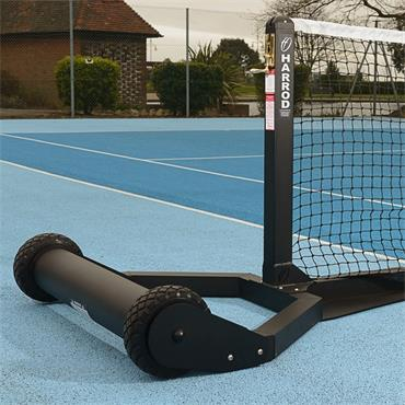 Harrod Integral Weighted Wheelaway Tennis Posts | Black