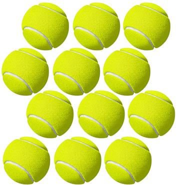 Tuftex Coaching Quality Tennis Balls - Yellow Pack 12