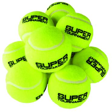 Super Tournament Tennis Balls (12 Pack)