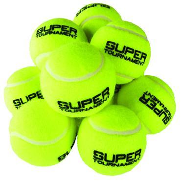 Super Tournament Tennis Balls (12 Pack)