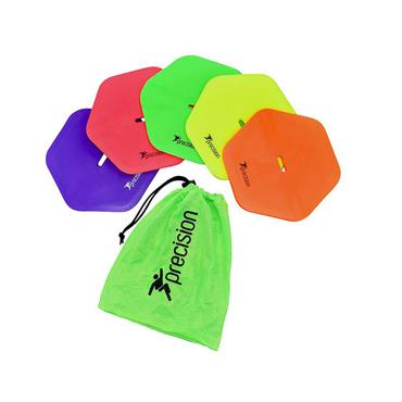 Pro Hex Flat Markers | Set of 10 Assorted