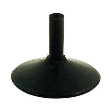 Precision Heavy Duty Rubber Corner Pole Base