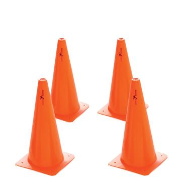"Precision Training Traffic Cones | 12"" (4 Pack)"