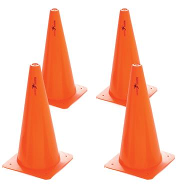 "Precision Training Traffic Cones | 15"" (4 Pack)"