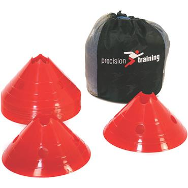 Precision Training Giant Saucer Cone Set (20) | Red