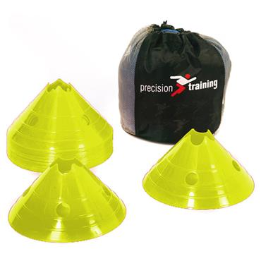 Precision Training Giant Saucer Cone Set (20) | Yellow