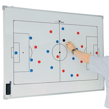 Precision Double-Sided Soccer Tactics Board (60 x 90cm)