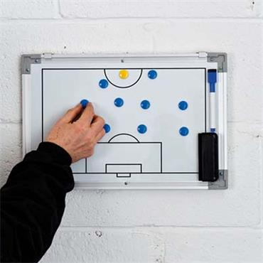 Precision Double-Sided Soccer Tactics Board (30x45cm)
