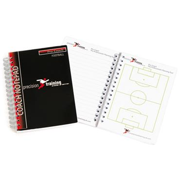 Precision Coaches Notepad - Football A6