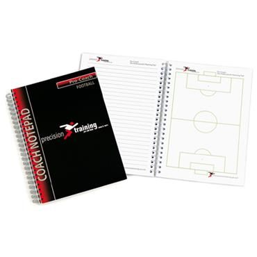Precision Coaches Notepad - Football A5