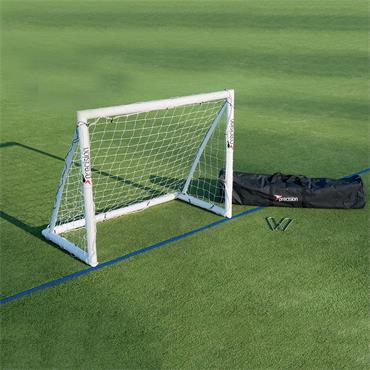 Precision Portable Goal | 5ft x 4ft | White