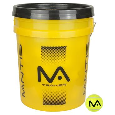 Mantis Trainer Balls Bucket (60 Balls)