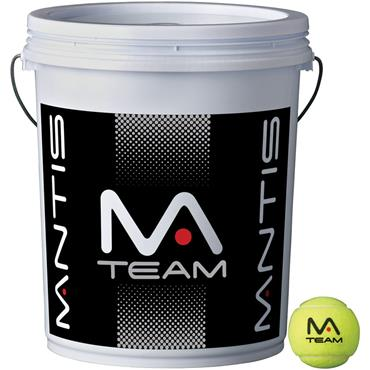 MANTIS Team Coaching Tennis Ball Bucket (72 Balls)