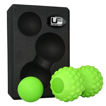 UFE Massage Balls & Yoga Block 3 in 1 Set
