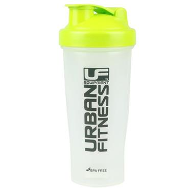 UFE Protein Shaker 700ml - Clear/Green