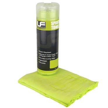 UFE Sports Towel 66 x 43cm - Green