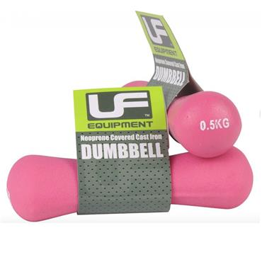 UFE Bone Neoprene Covered Dumbbells | 0.5kg