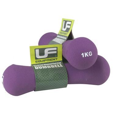 UFE Bone Neoprene Covered Dumbbells | 1kg