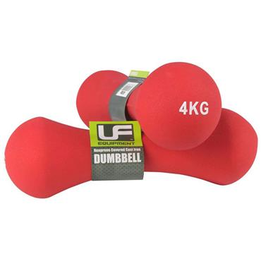 UFE Bone Neoprene Covered Dumbbells | 4kg