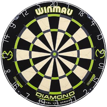 Winmau Michael Van Gerwen Diamond Dartboard