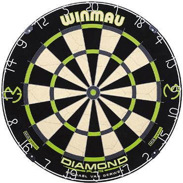 Winmau Michael Van Gerwen Diamond Dartboard