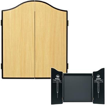Winmau Dartboard Cabinet - Beech