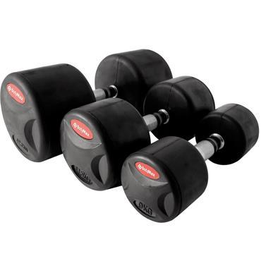 Bodymax Pro II Rubber Dumbbells | 12.5kg