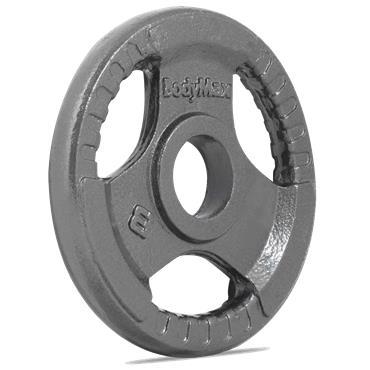 Bodymax Olympic Trigrip Grip Discs | 2.5kg