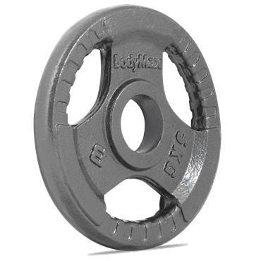 Bodymax Olympic Trigrip Grip Discs | 5kg