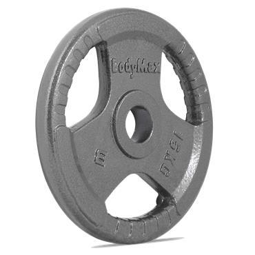 Bodymax Olympic Trigrip Grip Discs | 15kg