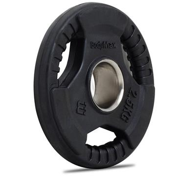 Bodymax Rubber Radial Olympic Weight Discs | 2.5kg