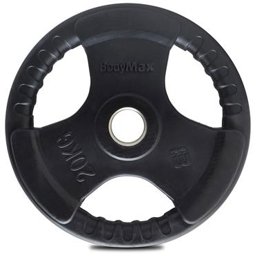 Bodymax Rubber Radial Olympic Weight Discs | 20kg