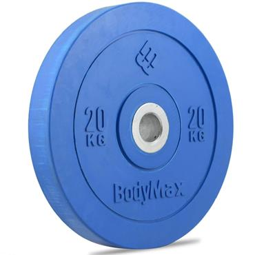 Bodymax Coloured Olympic Rubber Bumper Disc | 20kg