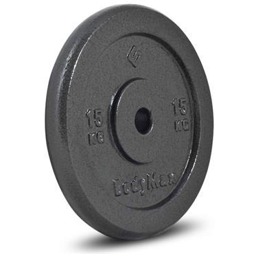 Bodymax Standard Hammertone Weight Disc Plate | 15kg