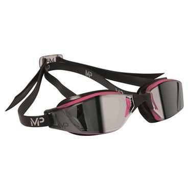 AquaSphere XCEED Lady Goggle | Pink/Black (Mirror Lens)