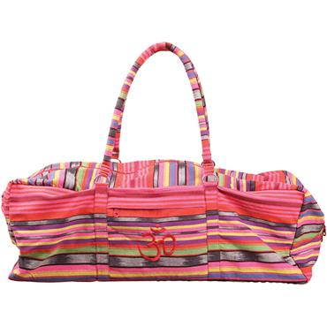 Yoga-Mad Deluxe Yoga Kit Bag | Pink