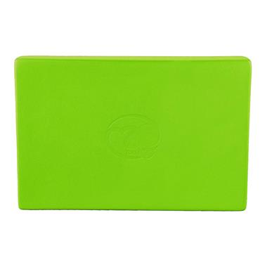 Fitness-Mad Full Yoga Block | Lime Green
