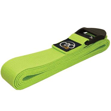 Fitness-Mad Deluxe Cotton Yoga Belts 2m | Green