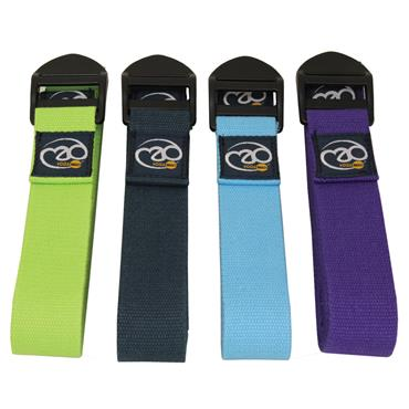 Fitness-Mad Deluxe Cotton Yoga Belts 2m | Purple