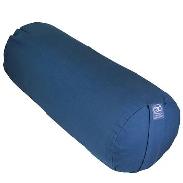 Fitness Mad Organic Yoga Bolster | Blue