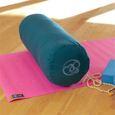 Fitness Mad Organic Yoga Bolster | Plum